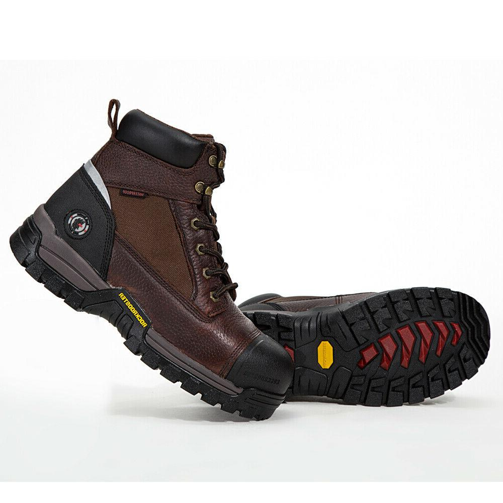 Work for Composite Waterproof Working Shoes Genuine Leather