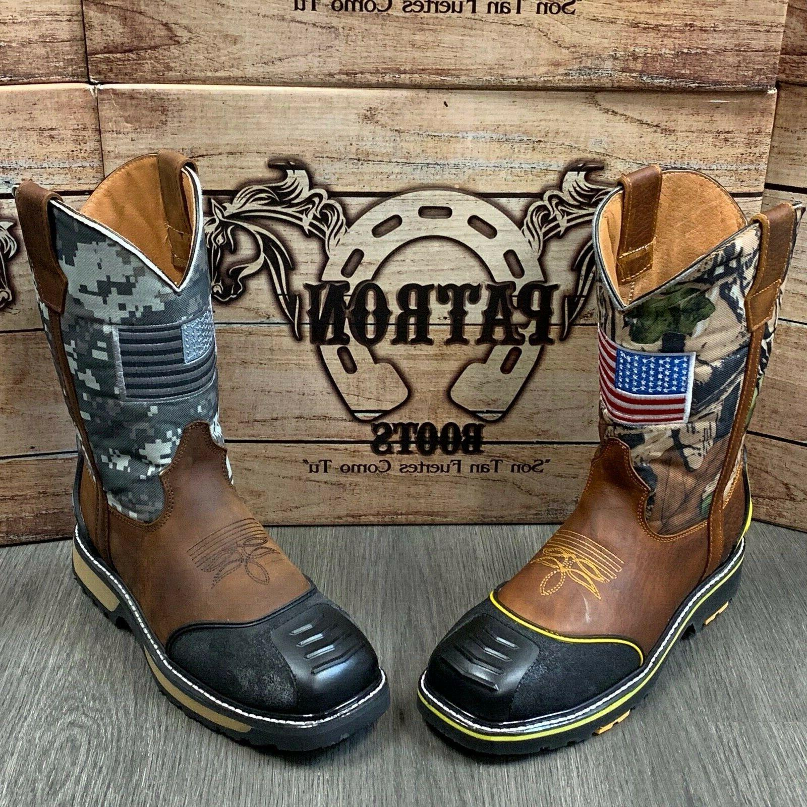 MEN'S BOOTS SOFT LEATHER SAFETY