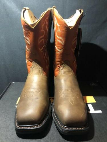 Men's Ariat Toe Size NEW TAGS