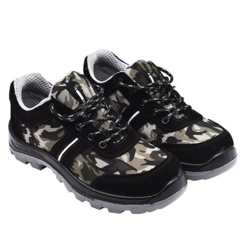 Men Safety Breathable Boots Steel Toe US