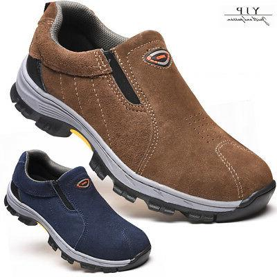 men steel toe safety shoes work breathable