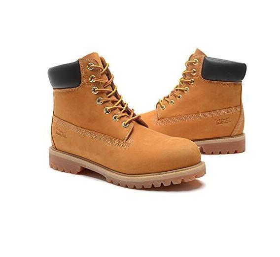 Jacata Men Winter Snow Work Boots Work Shoe Waterproof Genui