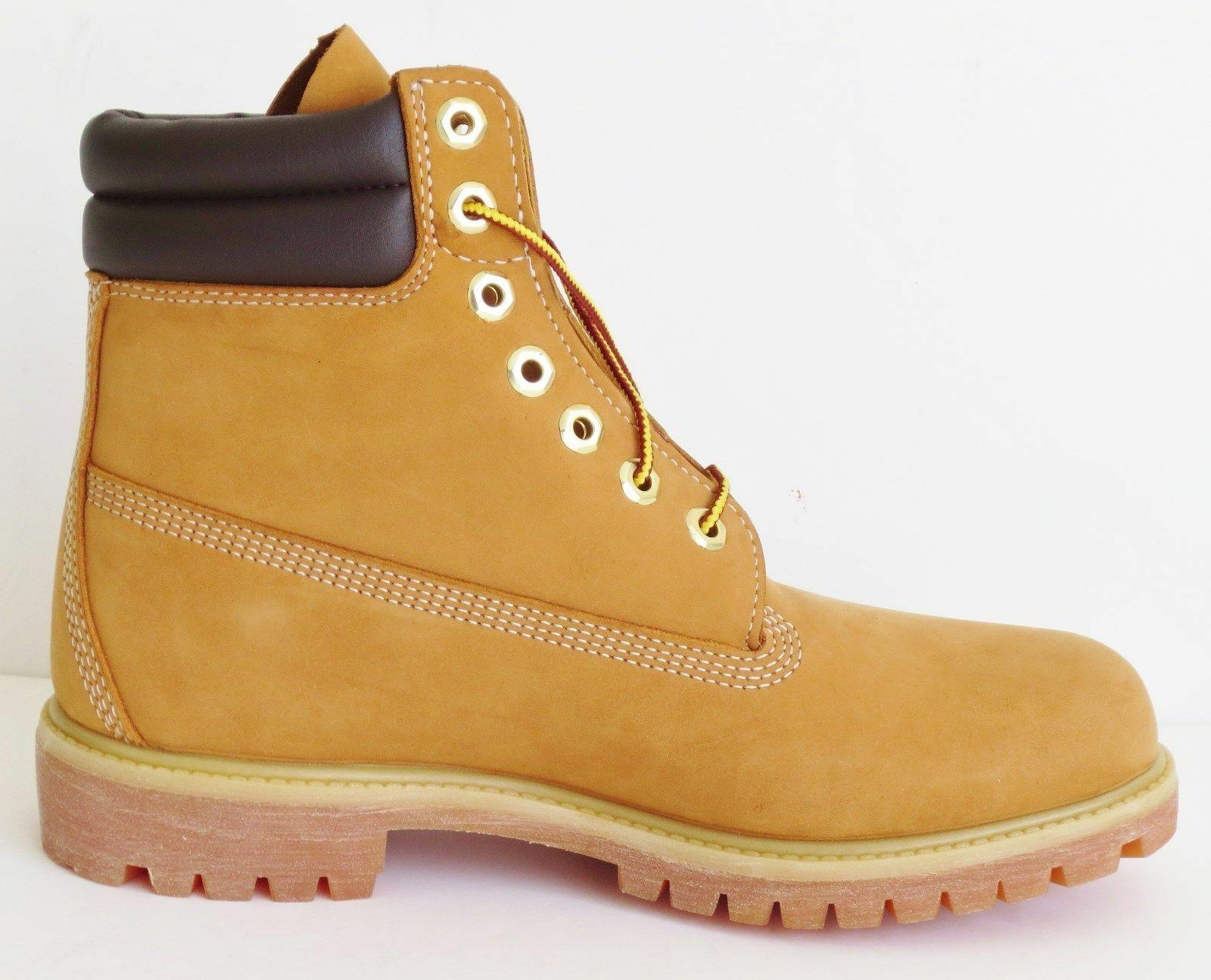 Timberland Mens Double Sole Premium Work Wheat