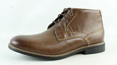 mens classic break chukka brown ankle boots