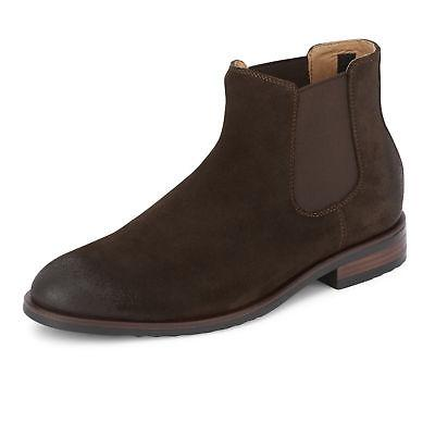 Lucky Brand Mens Cohen Finished Genuine Suede Leather Slip-o