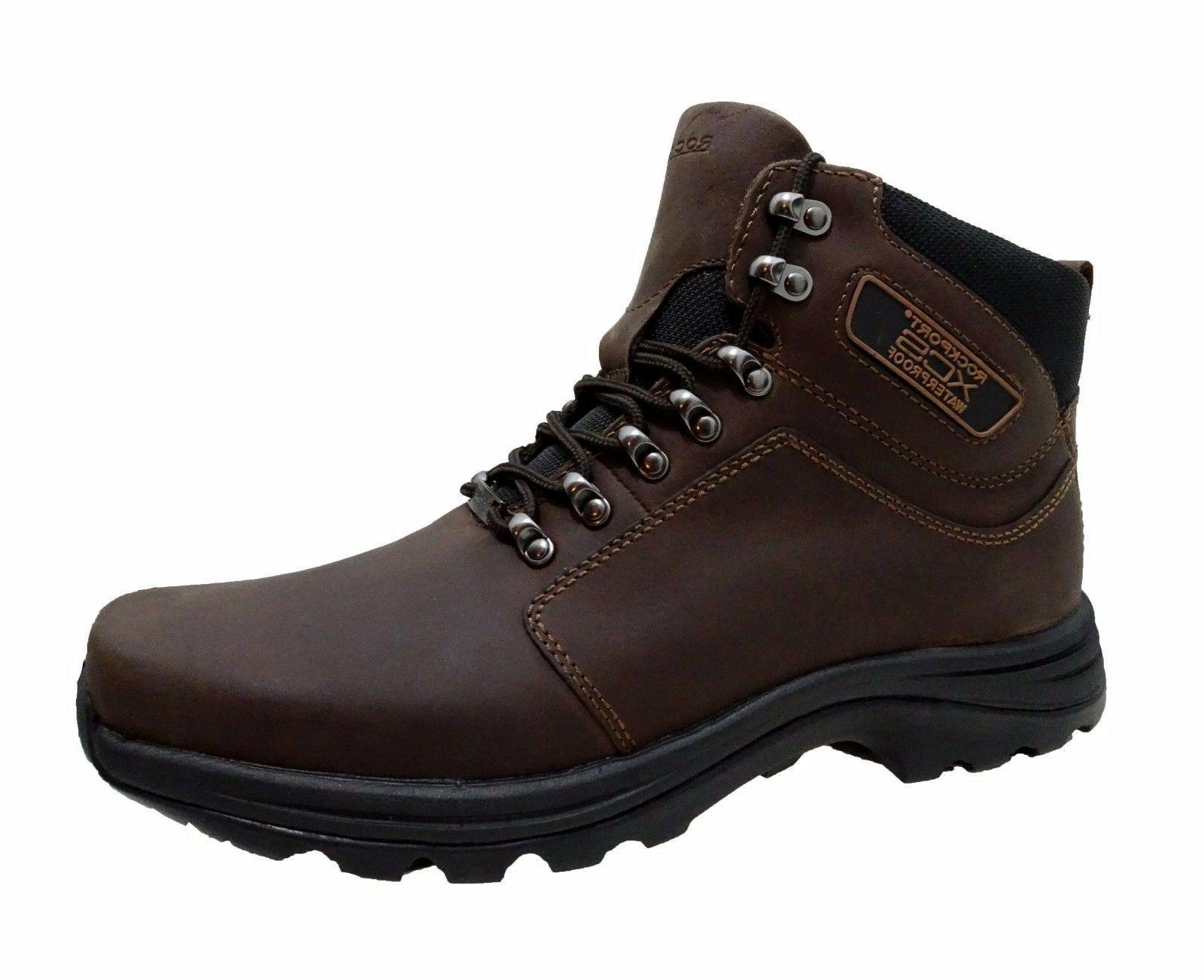 mens elkhart waterproof lace up hiking trail
