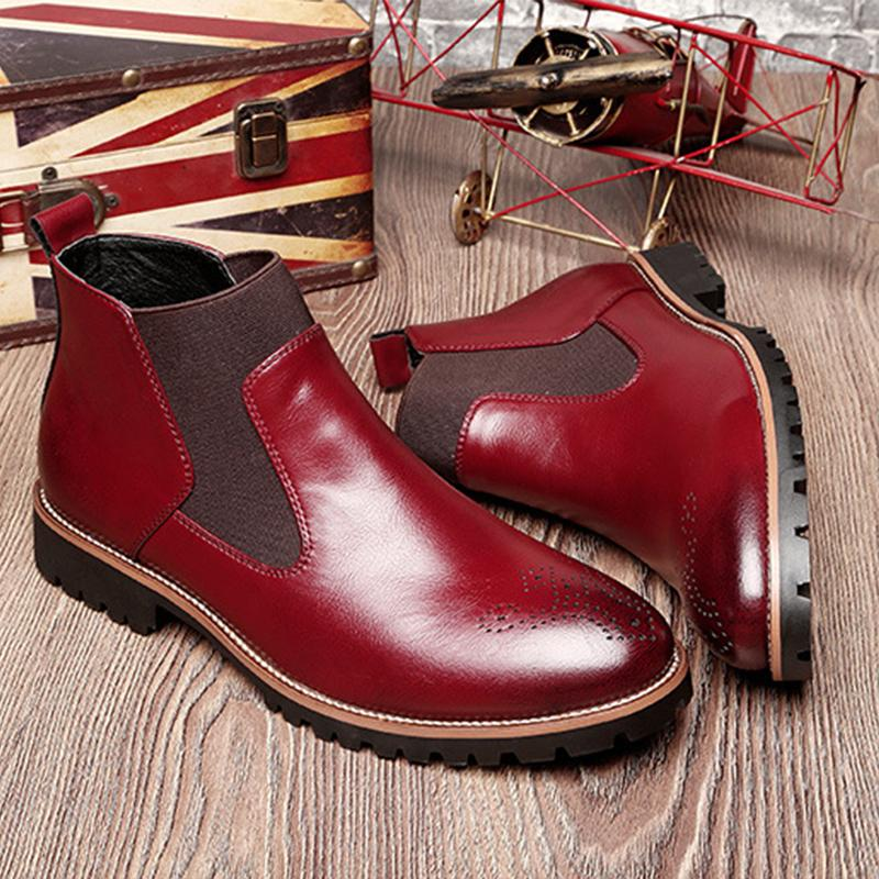 Mens Leather Casual
