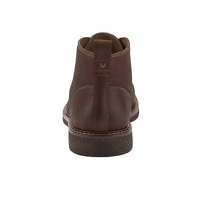 Dockers Tulane Leather Lace-up Desert Chukka Boot with NeverWet