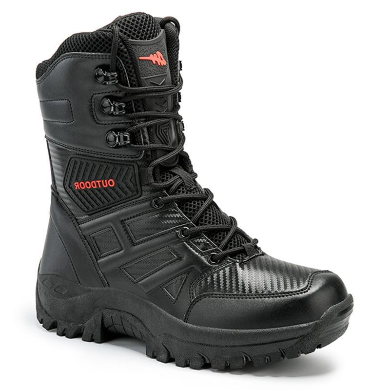 UEXIA New Footwear Tactical Mens Special Force Desert Ankle Army Shoes Size