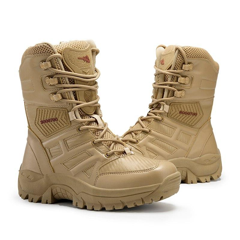 UEXIA Footwear Tactical Force Ankle <font><b>Boot</b></font> Shoes