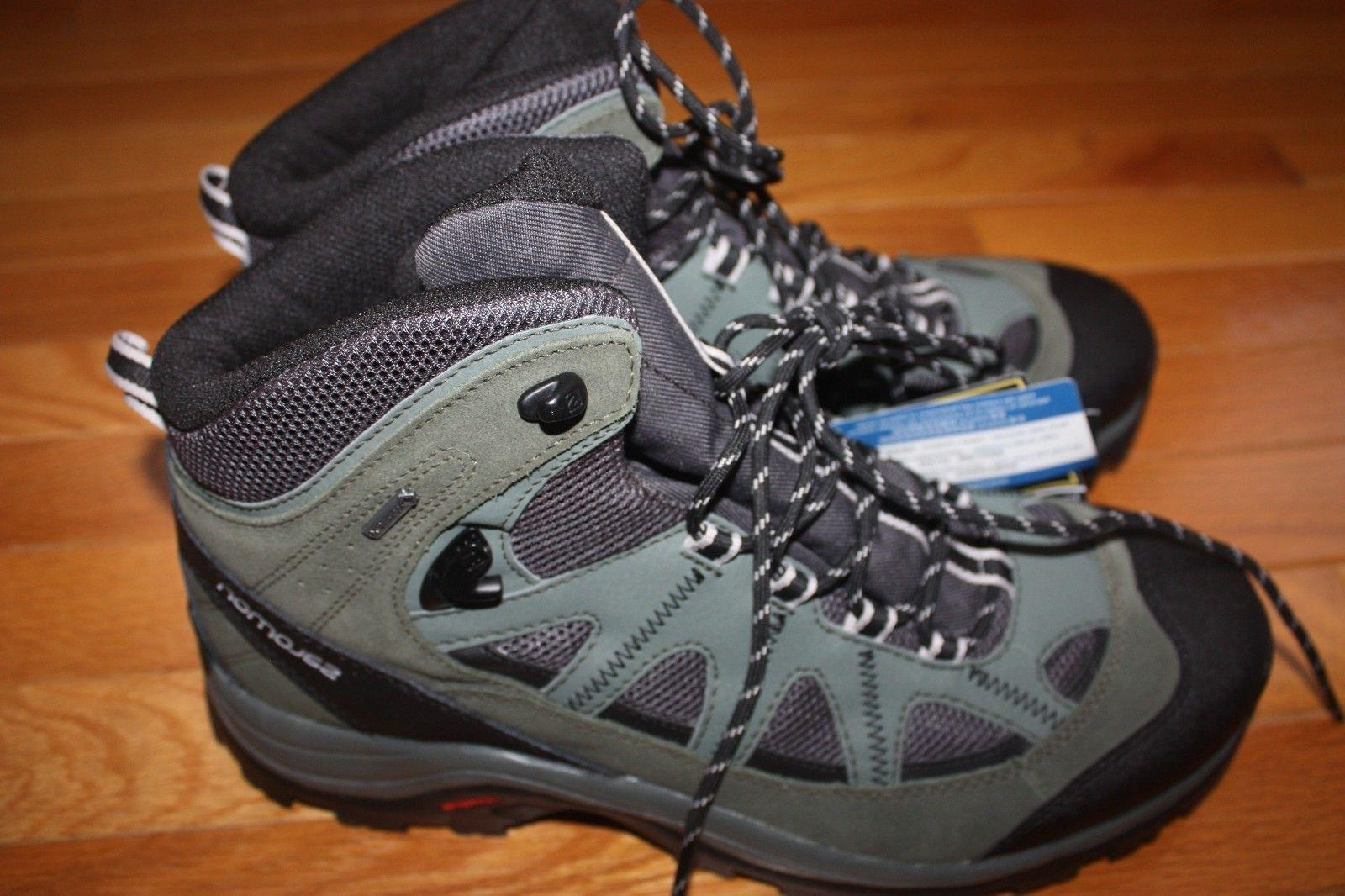 New Box Salomon Authentic GTX Backpacking Boots SHIP US FAST