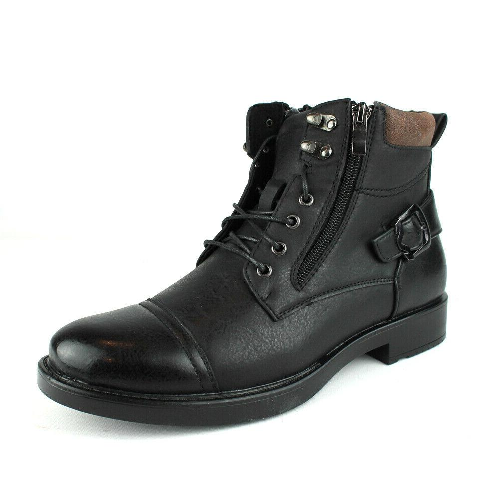 new mens dress casual ankle boots lace