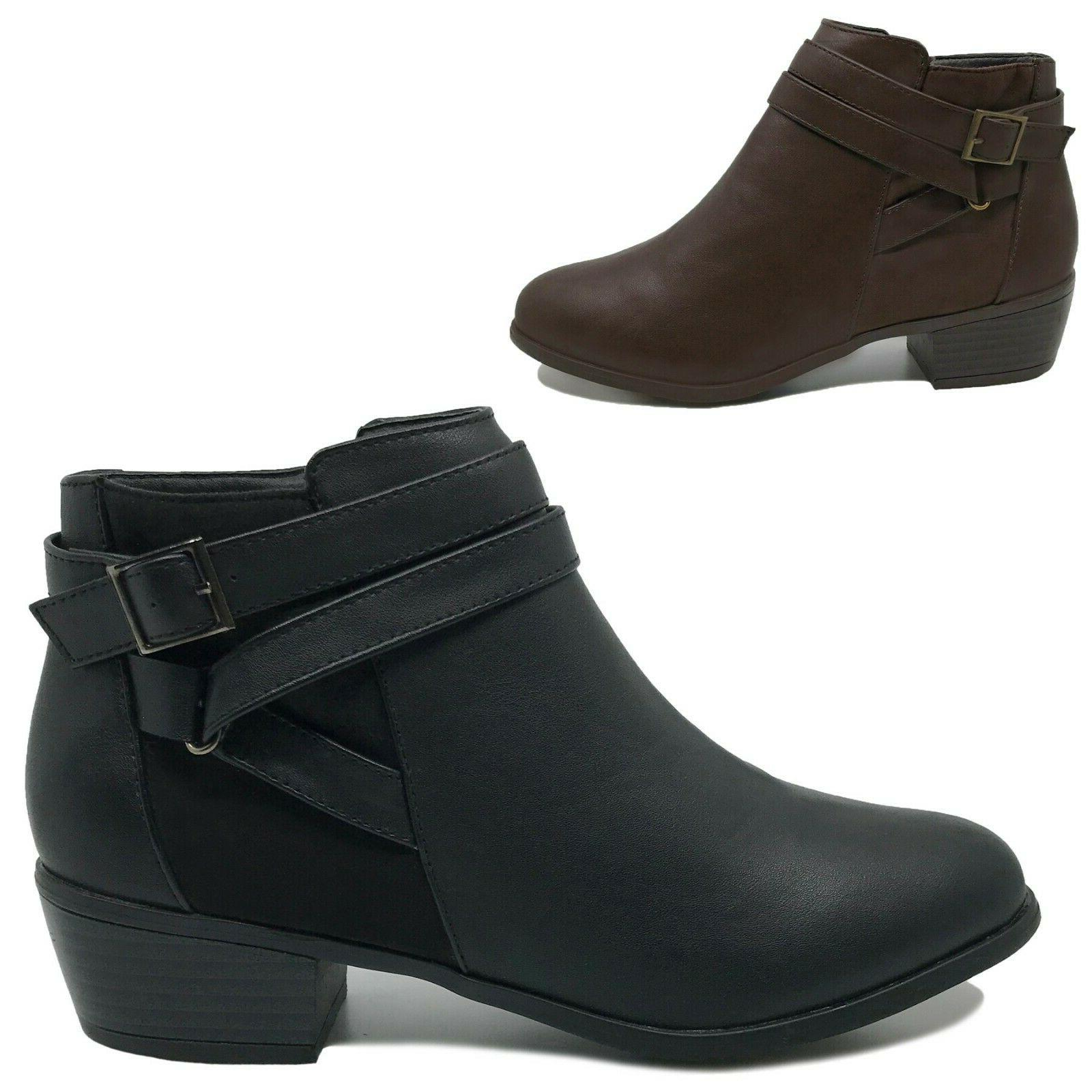 New Boots Low Short Black Brown to 11