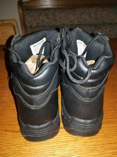 NWOB Reebok Toe Boots Lace Up