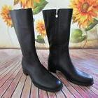 NWOT Rockport Black Leather Riding Boots, 6M