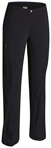 NWT COLUMBIA Women's BLACK JUST RIGHT STRAIGHT LEG PANTS Omn