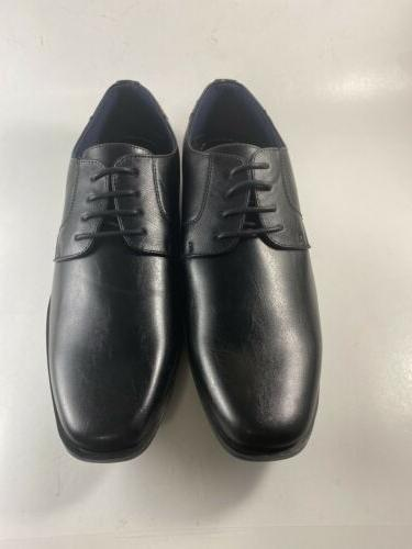 Ultra Black Leather Mens Shoes NEW