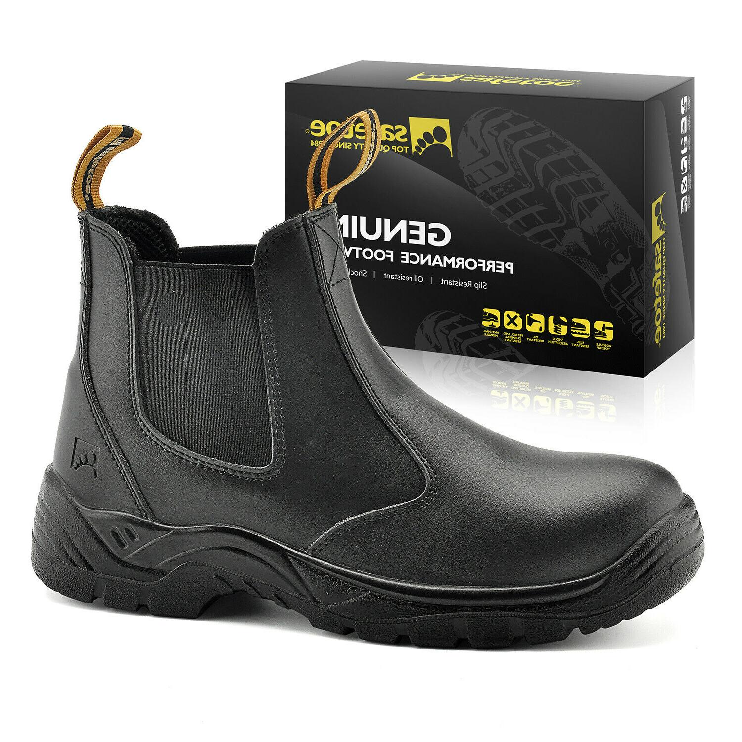 safety work boots mens shoes steel toe