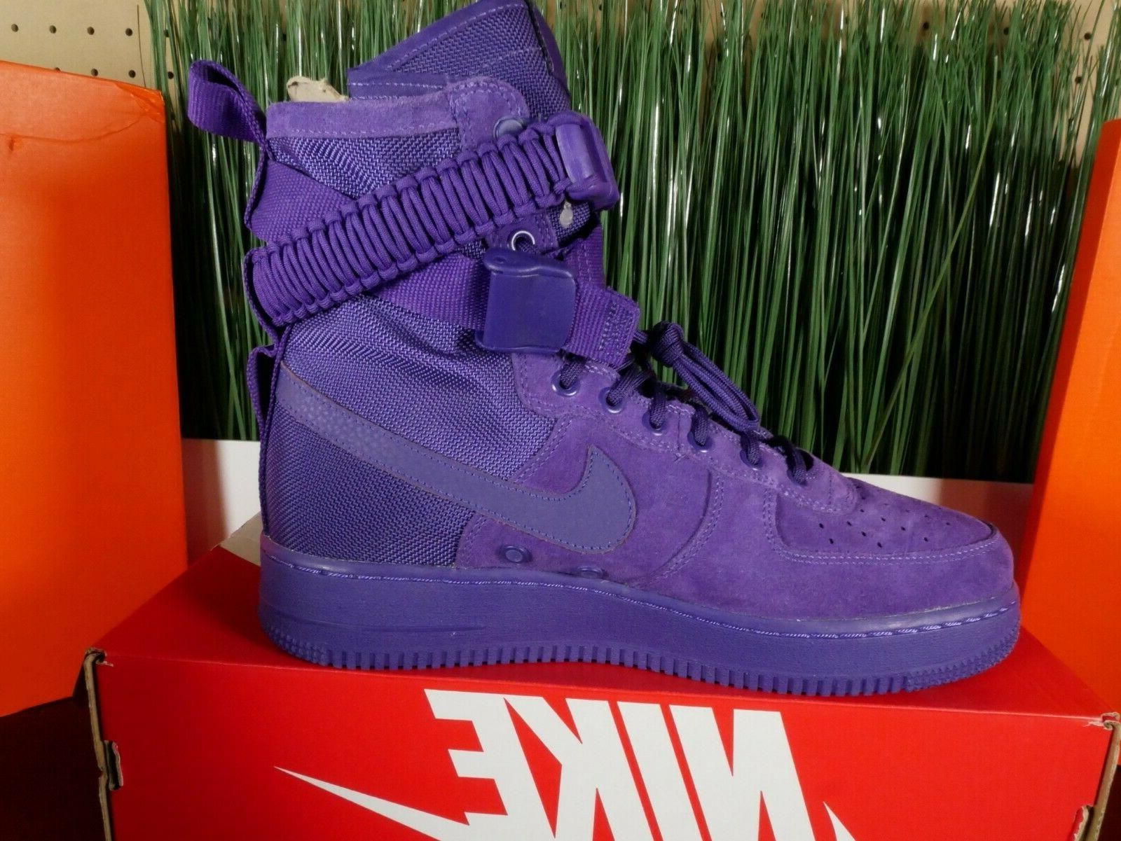 Nike Force Boots 'Court Purple'