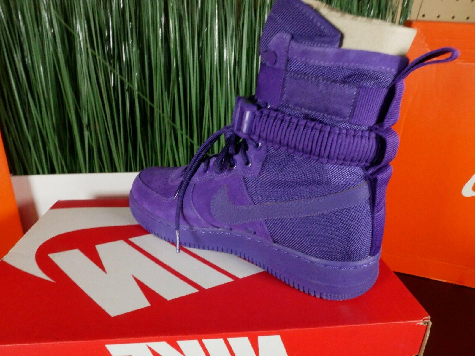 Nike AF1 Air Force Boots 'Court Purple'