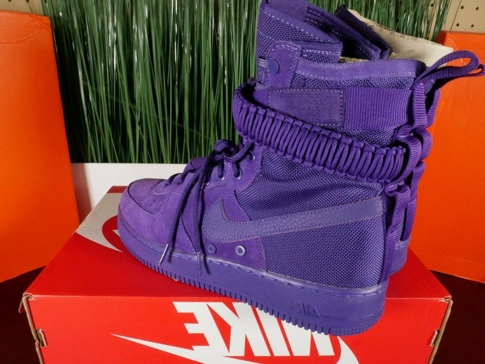 Nike Air Force Boots Purple' Multi