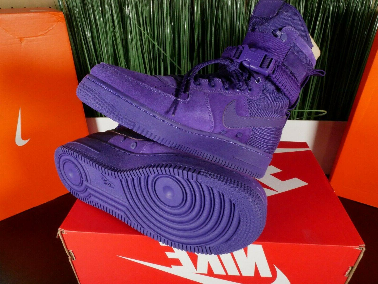Nike SF Force Purple' 864024-500 Multi