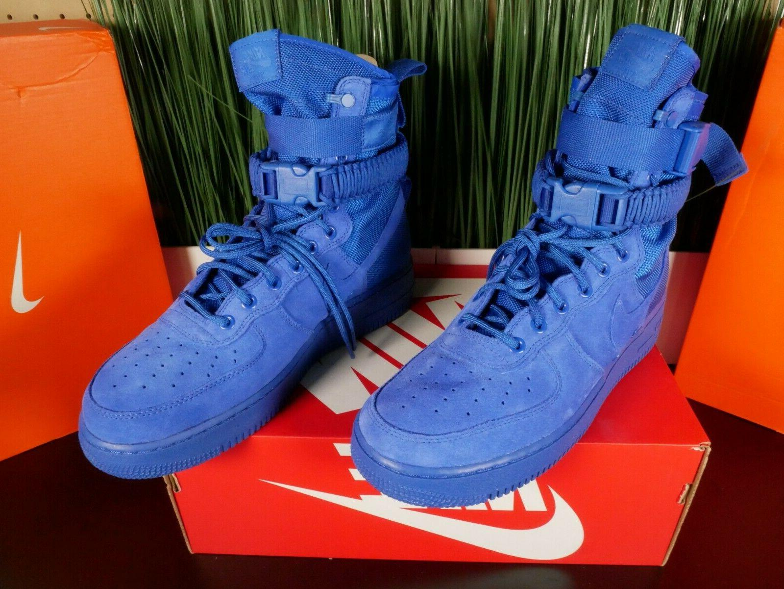 Nike Mens Special Field Boots Blue 864024-401 Sz
