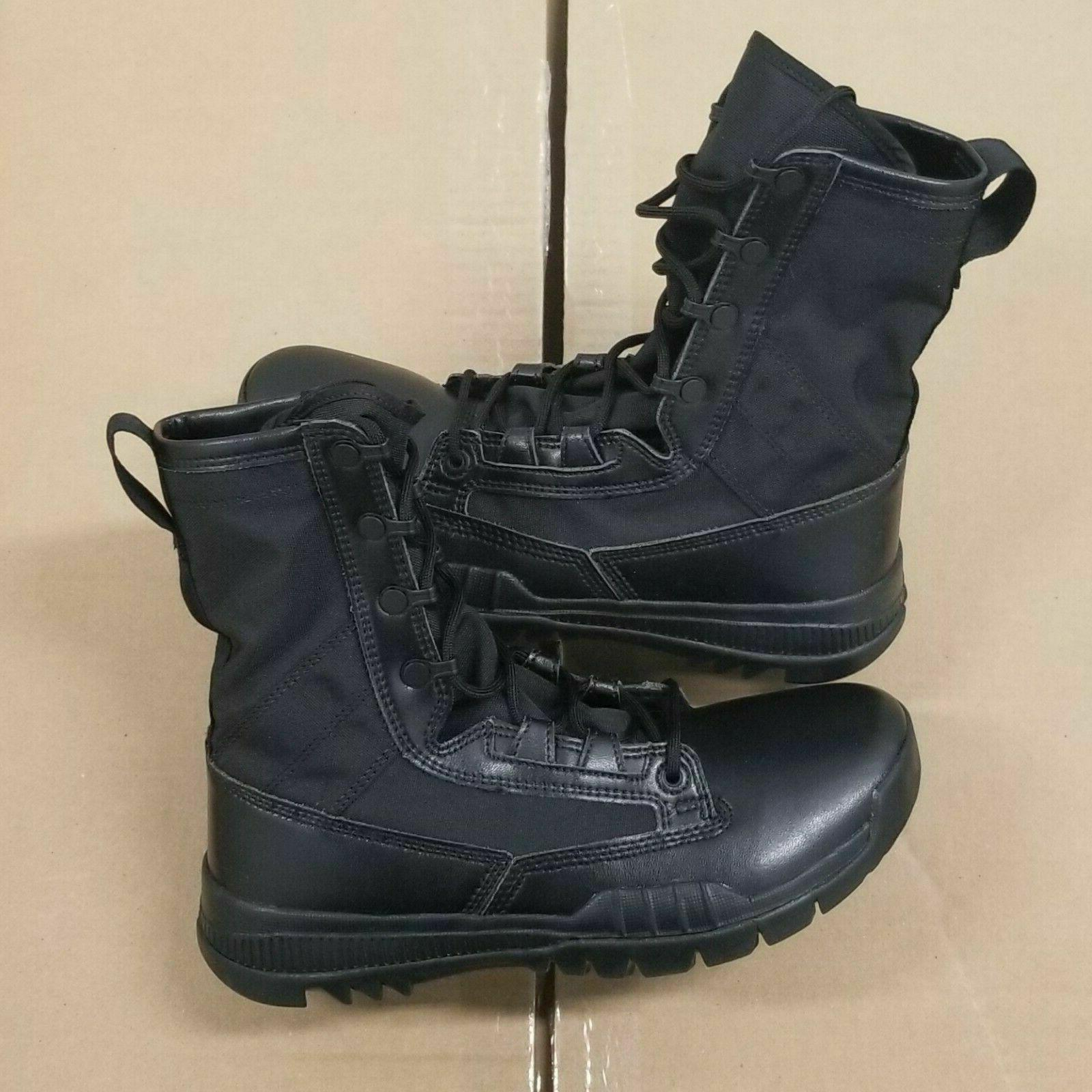 sfb field 8 triple black leather special