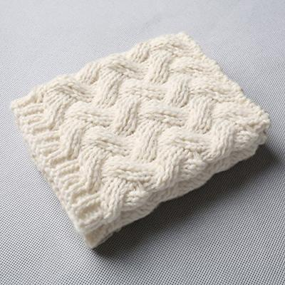FAYBOX Short Women Crochet Boot Cuffs Knit