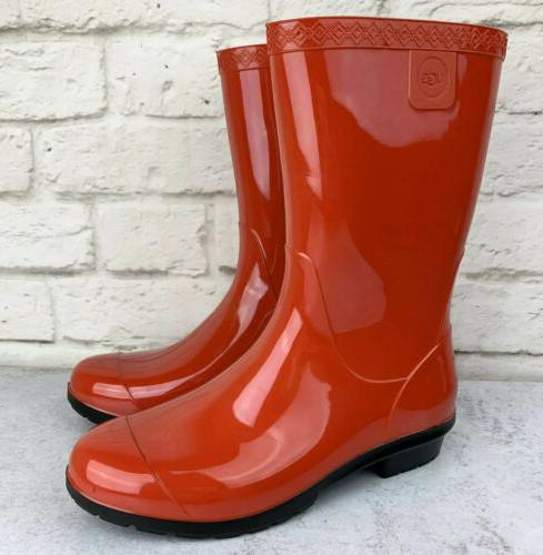 UGG Sienna Red Rubber Women's 1014452 6 New!