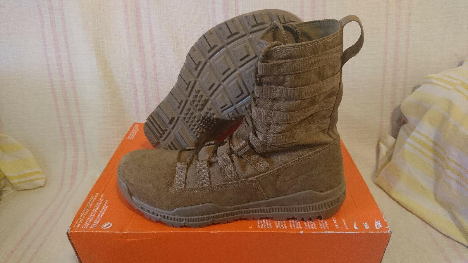 Size 13 Nike SFB GEN 2 Leather Boots Coyote Brown 922471 900