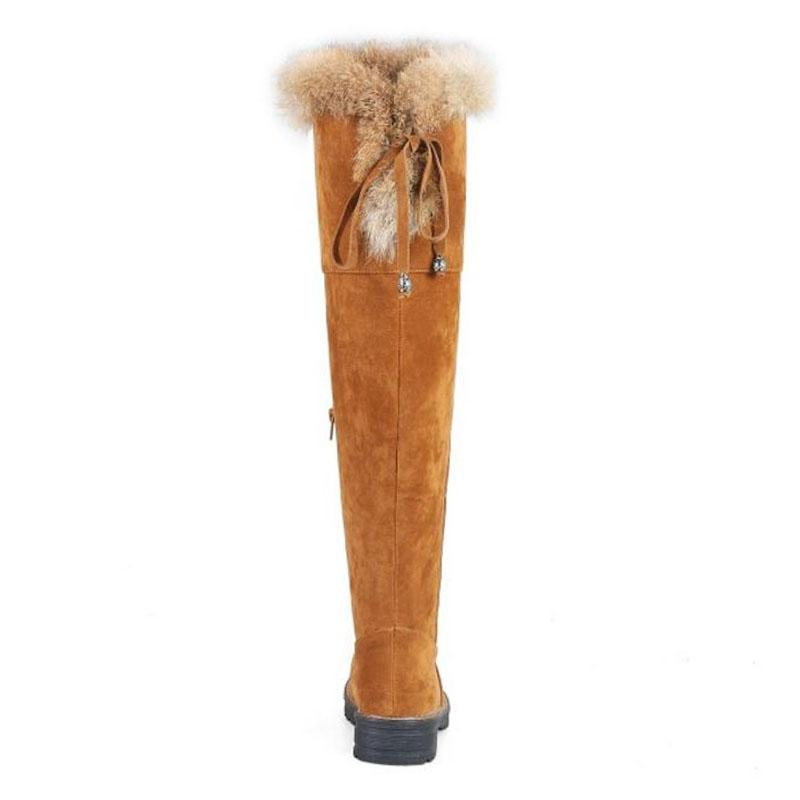 KemeKiss Size Over <font><b>Keen</b></font> Thick Fur Up Warm Shoes