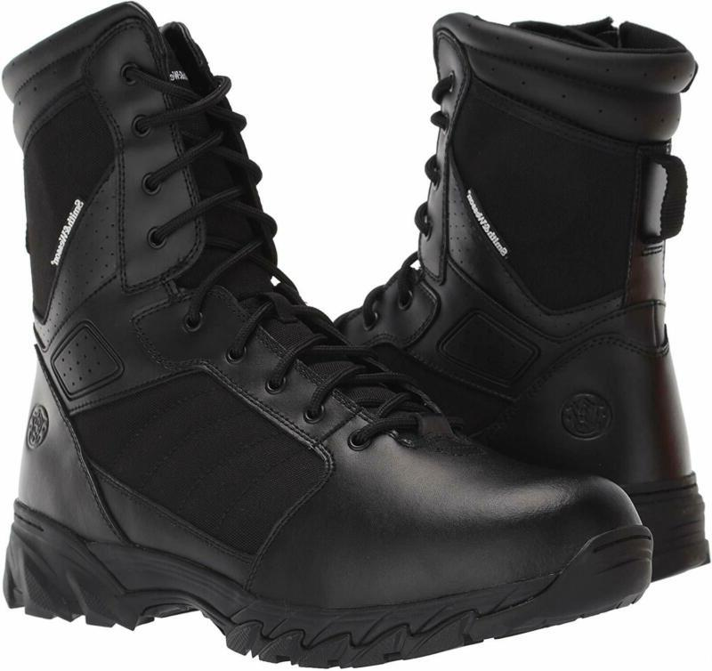 Smith & Wesson Men's Footwear Breach 2.0 Size Zip Army Milittary Boots