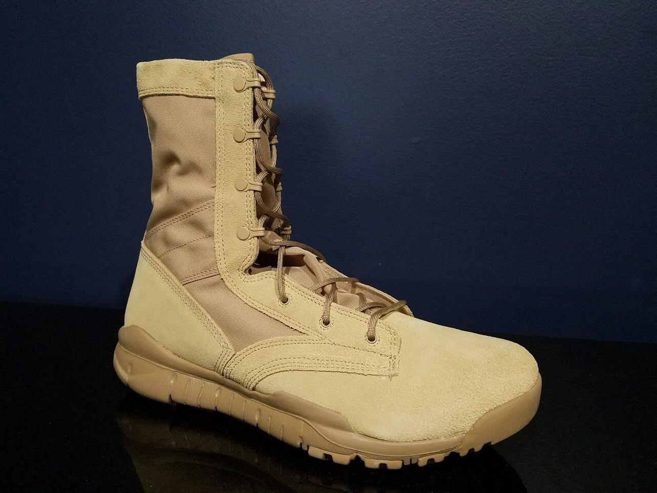 Nike Special Field Boots Leather British Khaki 688973 200 NE
