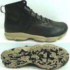 Under Armour Speed Fit Hike Leather Black Desert Sand Men's