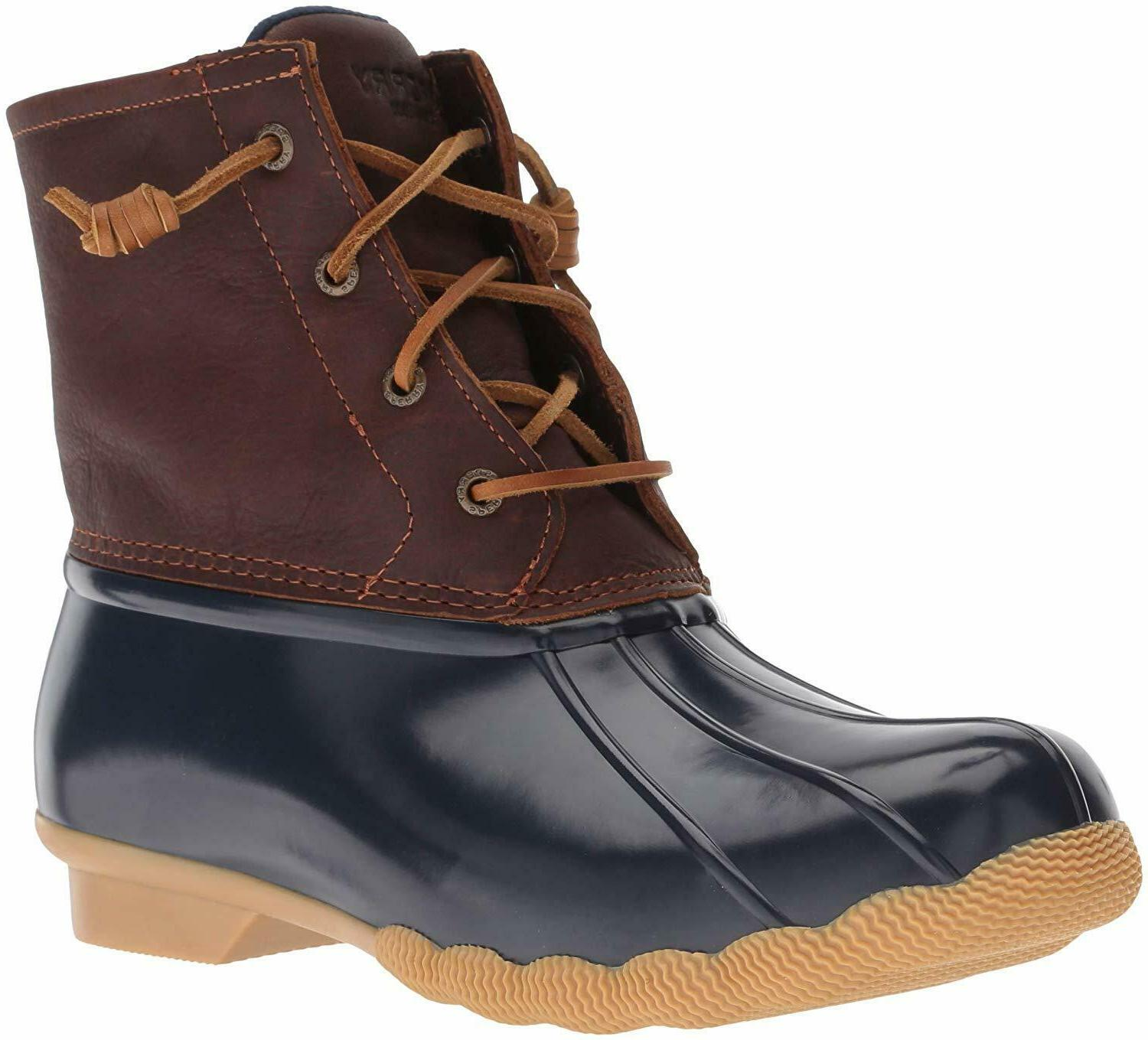 sperry women s saltwater rain boot