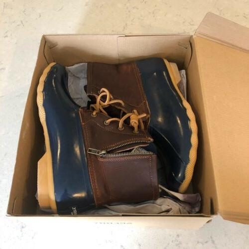 SPERRY Womens Saltwater Duck Boot Style 10M