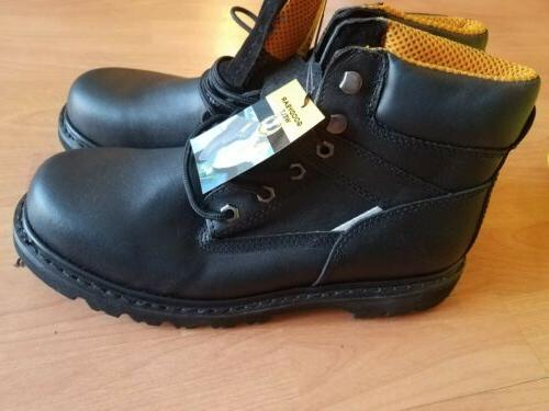 Kingshow STEEL TOE GOODYEAR WELT Mens 10 Lace Up Work Safety