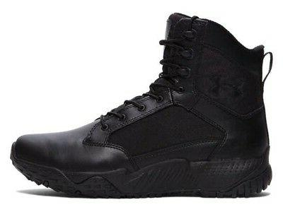 "Under Armour Stellar Tactical 8"" Side Zip Boots All Sizes Bl"