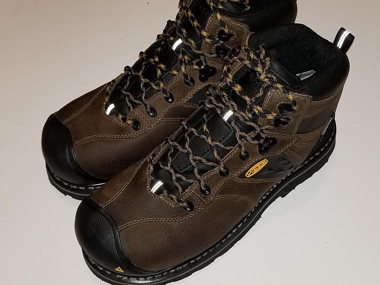 """KEEN TACOMA BROWN 1015396D WATERPROOF COMPOSITE TOE 6"""" Lace"""