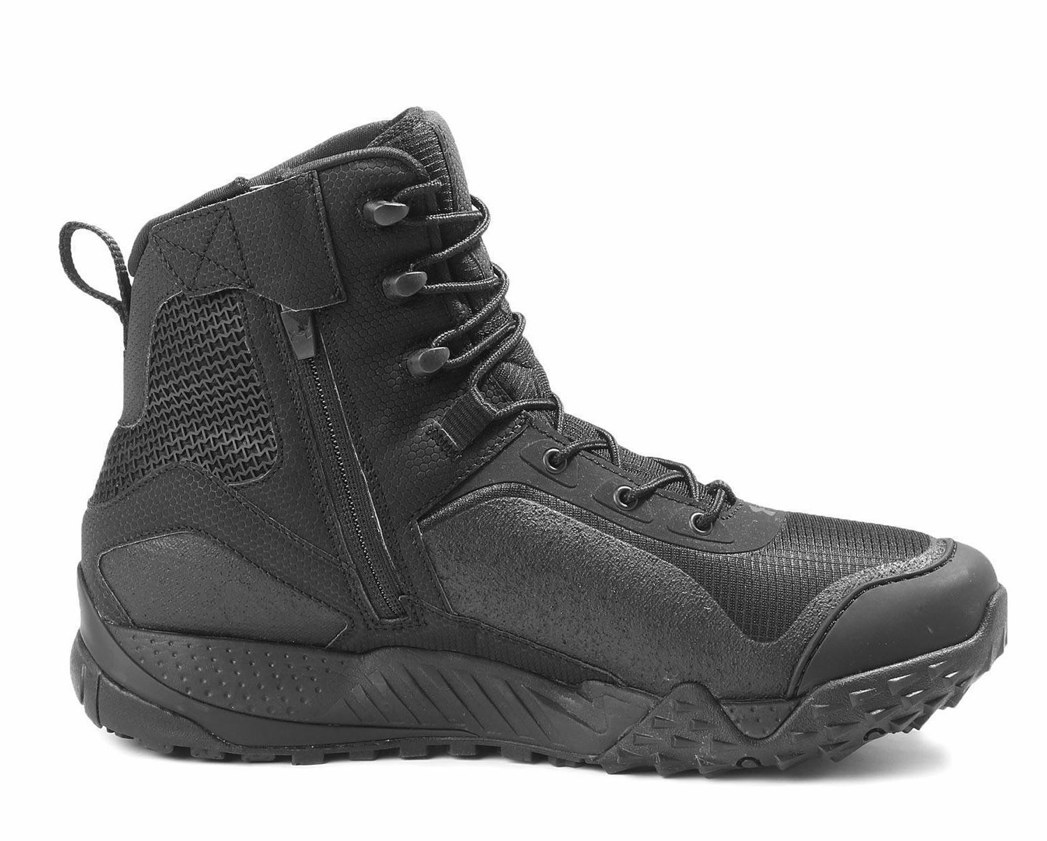 Under Armour  UA Valsetz RTS 1.5 Side Zip Tactical Boots Bla