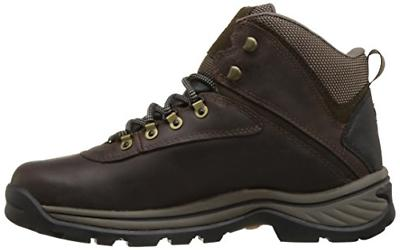 Timberland White Waterproof Boot,Dark Brown,10 US