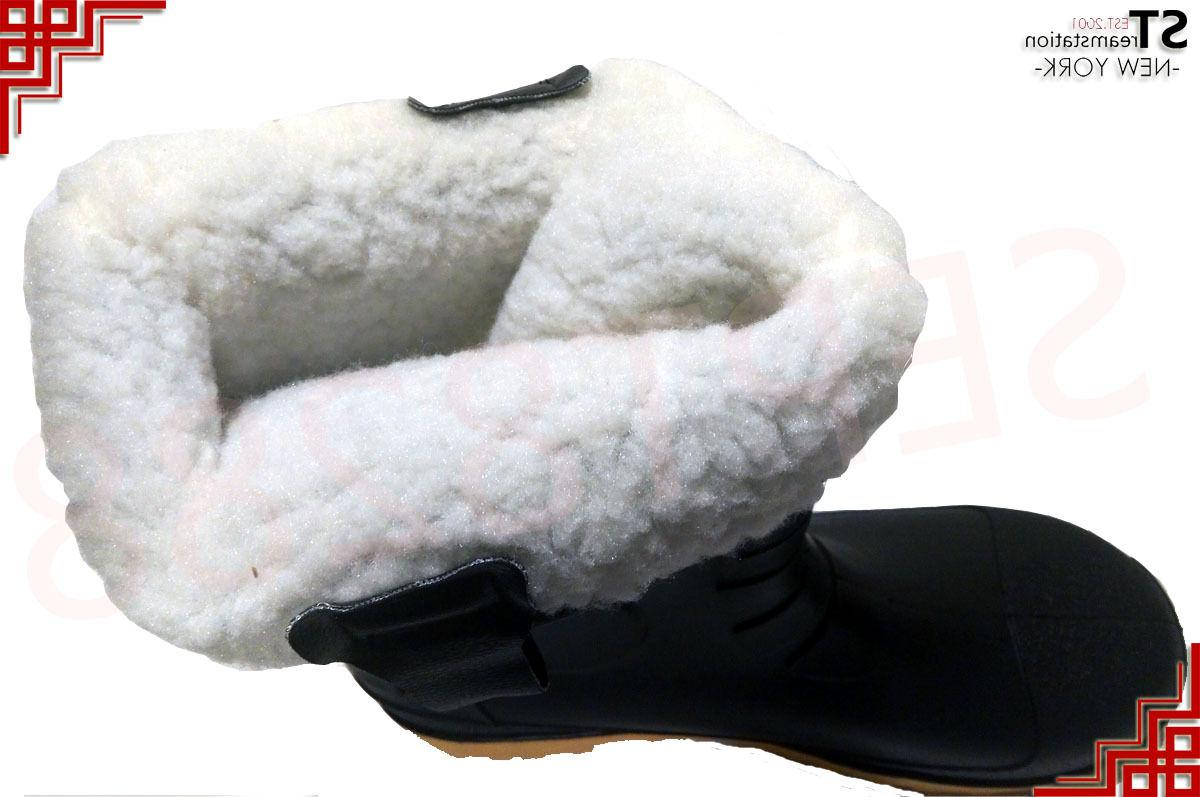 Winter Snow Boots Men Shoes Lined