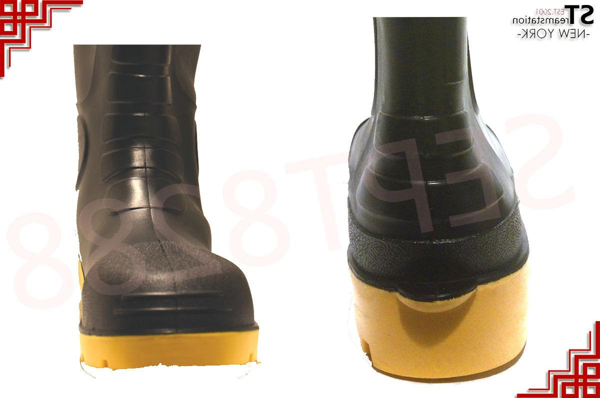 Winter Men Water Lined Rubber Insulated
