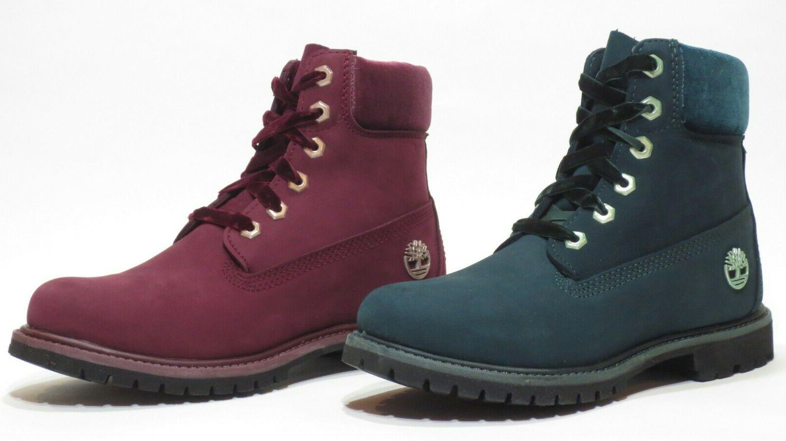 Timberland Woman's 6 Green Red