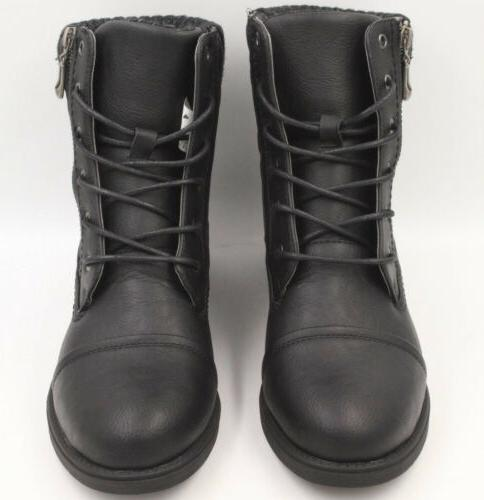 GLOBAL Winter Boots Black