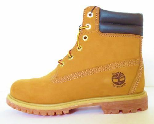 Timberland Women's 6 Inch Wheat Waterproof Double Sole Padde