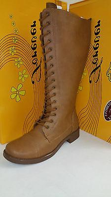 Women's Forever Link Andrea-25 High Tan Lace Up Boots Multip