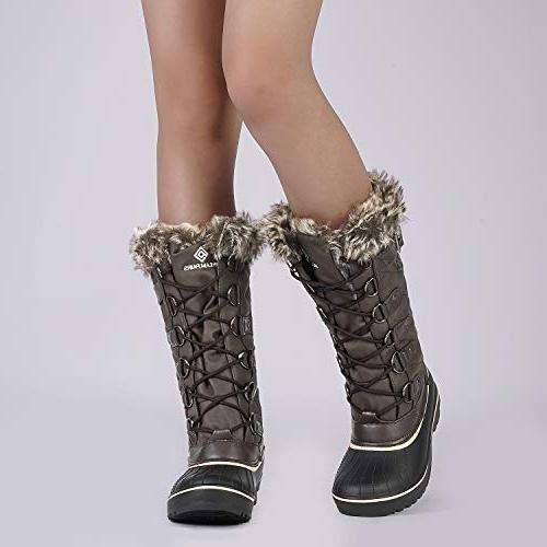 DREAM Brown Faux Boots US