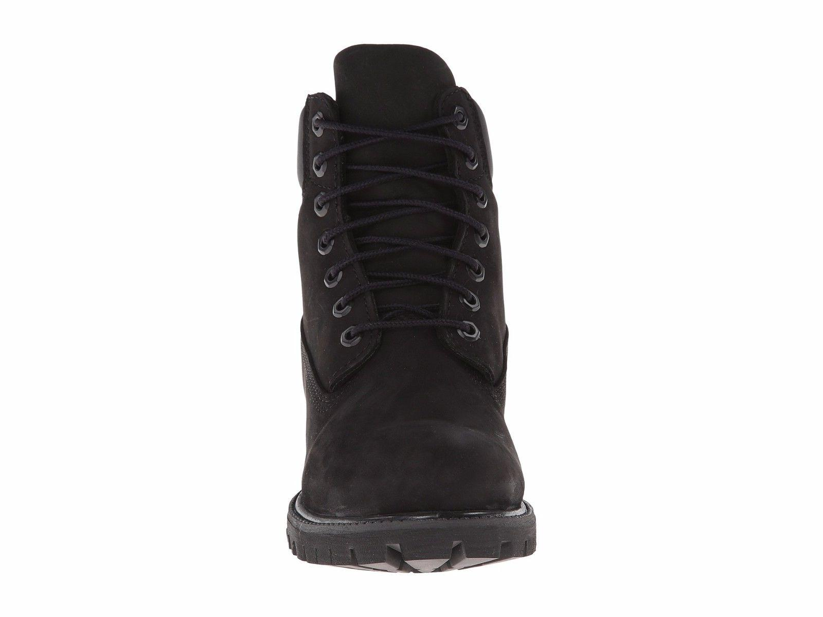 Women's Shoes Timberland INCH PREMIUM Up BLACK New